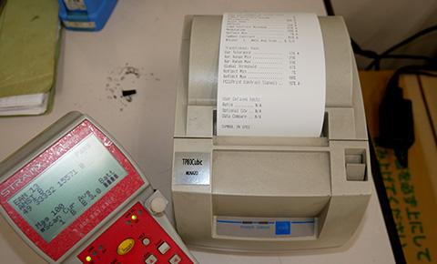 バーコード検査機イメージ