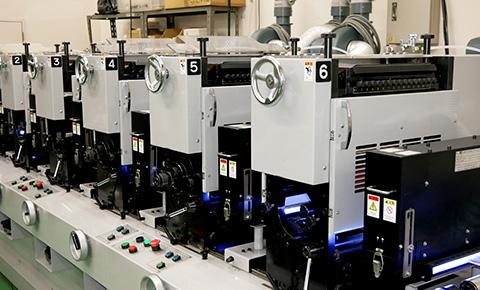 UV間欠凸版印刷機イメージ