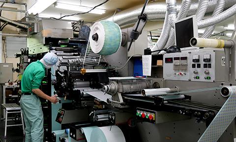 UV凸版輪転印刷機イメージ